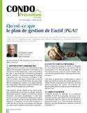 Article Condo Prévention signée de Hubert StPierre